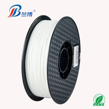 High quality White 3d pla filament 1.75mm for 3d printer