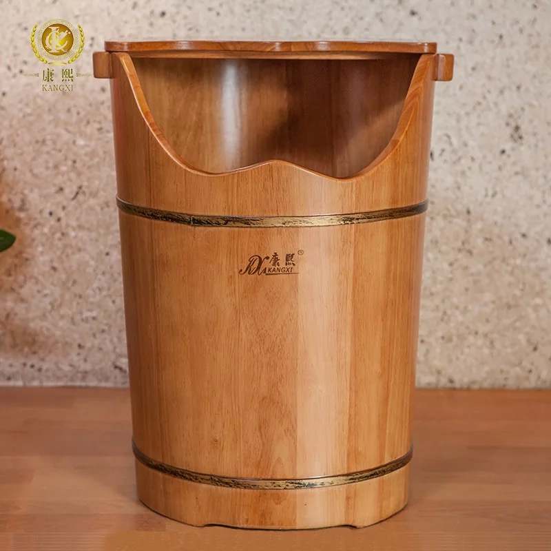 Foot soaking tub foot steam <strong>barrel</strong> wooden foot spa bucket
