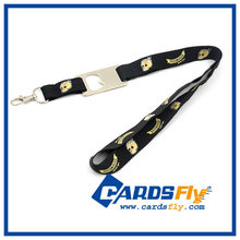 high quality promotional lanyard bottle opener with free sample