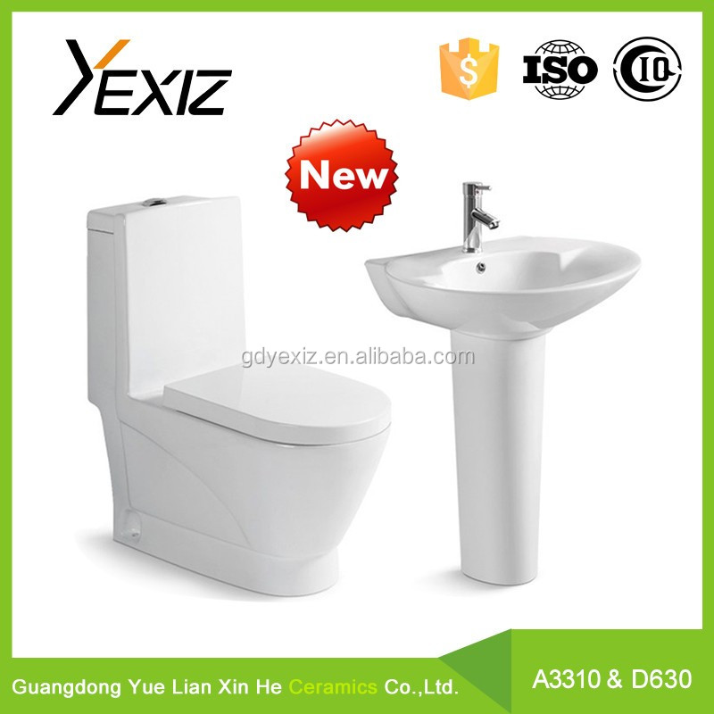 A3310& D622 Sanitary ware toilet WC and basin / China toilet bowl / toilet WC bowl