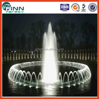 Stainless steel 304 portable music fountain water dancing foutain