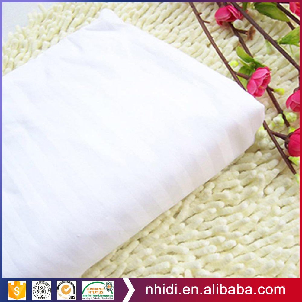 TC textile supplier bleached white ingrey polyester 65 cotton 35 fabric poplin