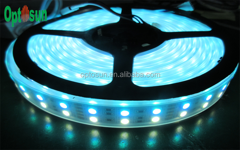 led rope light 12v high luminous 5050 double row rgbw led strip light. Black Bedroom Furniture Sets. Home Design Ideas