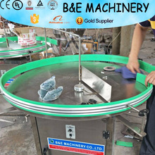 small capacity PET bottle unscrambler,bottle collect turntable,Collection bottles machine/accumulation table