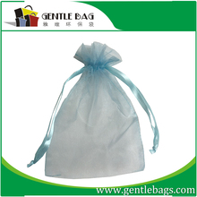 Factory directly supply 4x6 inch TOP quality wedding organza gift bag