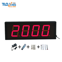 4 inch 4 digit Days countdown LED digital counter