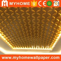 Fashion New 3D Interior Designs Outdoor PVC Wall Panels