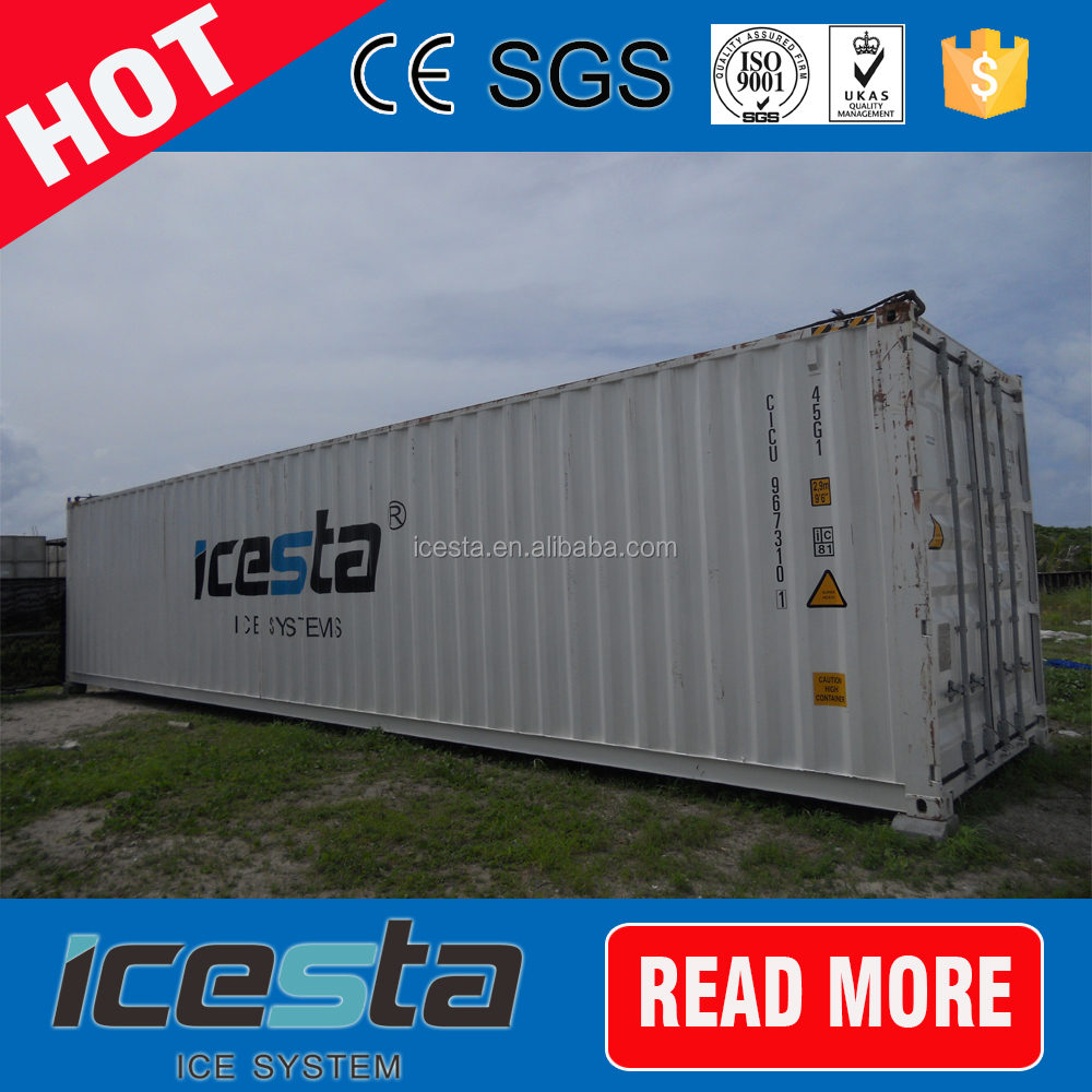ICESTA high cost performance block ice plant container