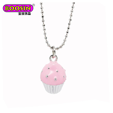Optional collocation pendant changeable delicious tasty little cake pendant necklace