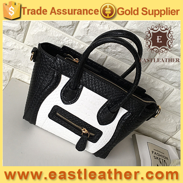 E1649 smiling face classic colorful women handbag tote bags wholesale