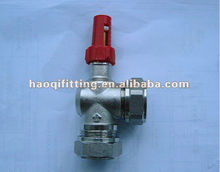 UK market automatic brass bypass valve