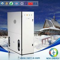 cold area appliance water/ground source heat pump split dc inverter air to water heat pump