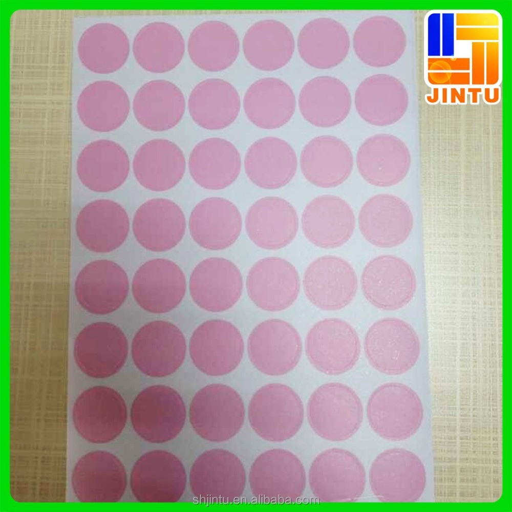 Customized colored dots 3M vinyl stickers decal