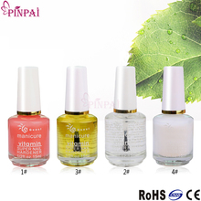 PinPai brand health safety base coat top coat cuticle oil set private label nail polish