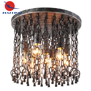 Russia Style Vintage Design Industrial Restaurant E27 Ceiling Light Fixture