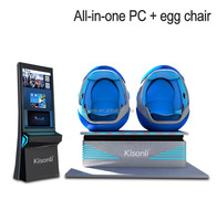 Vr technology robot shaped 9d vr 9d cinema interactive motion 9d cine virtual reality chair