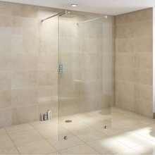 Cheap Price Frameless Hinged Door Straight Shower Enclosure Screen