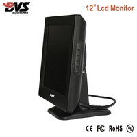 High quality desk mount stand 12 inch lcd vehicle monitor
