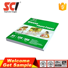 Factory wholesale 120g A4 adhesive photo paper