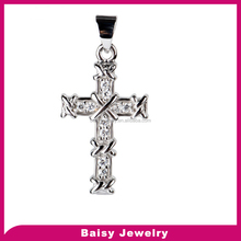 China factory direct sale 925 silver cross pendant jewelry for men