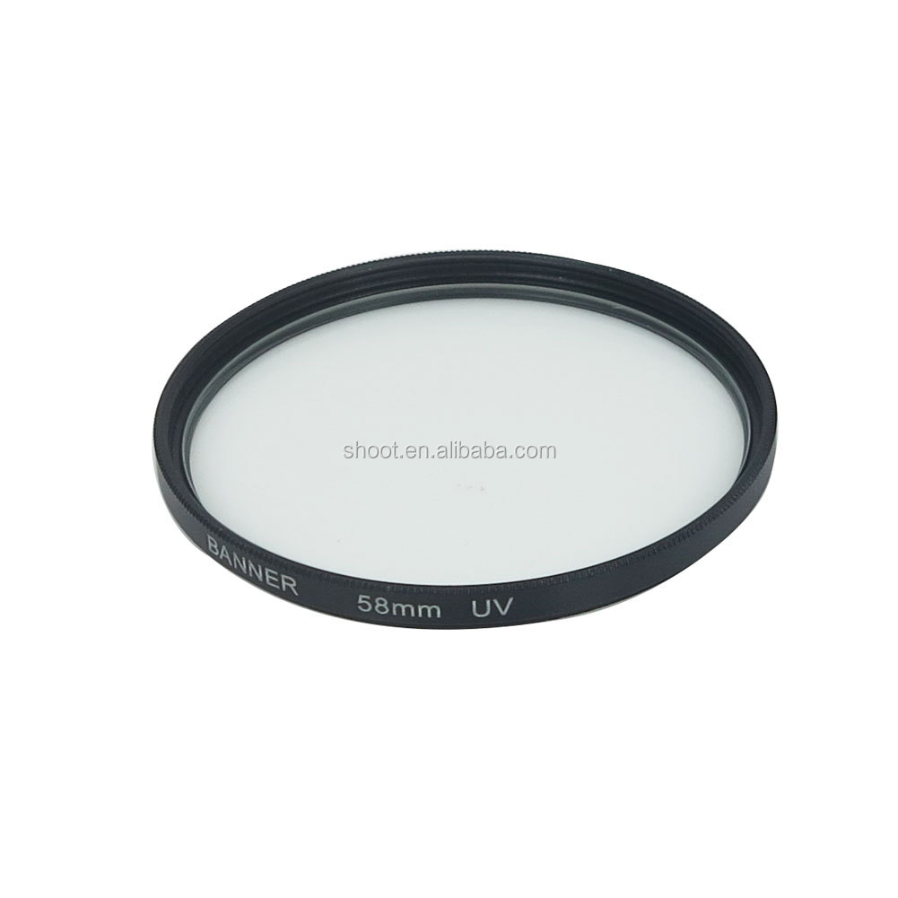 Popular 58mm Ultra-Violet UV lens Filter Protector for Nikon Canon Sony,Pentax,Olympus Camera