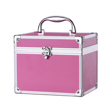 Professional Portable Aluminum Makeup Case With Mirror