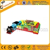 Outdoor structure Train Station inflatable amusement park A3079