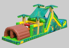 art print amazing giant inflatable kids obstacle course equipment