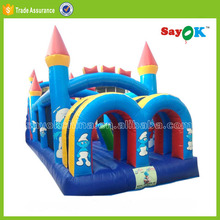 giant used commercial bounce house inflatable adult jumpers rock bouncer 5 in 1 combo with water slides for sale