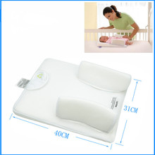 New high quality Infant sleeping pad pillow/anti turning spits pillow/bed