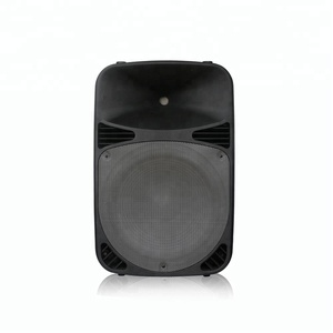 Professional 15 inch Plastic Cabinet Live Sound Subwoofer Speakers