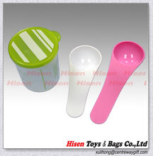 4oz best selling plastic cup with lid and spoons