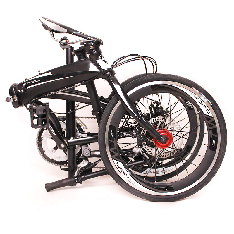 High performance city folding bicycle for adults