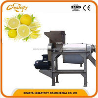 1.5T/ semi automatic fresh squeezed passion lime/mango/grape/ginger fruit juice extractor/extracting cold press machine
