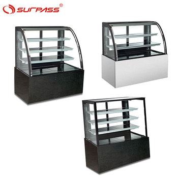 Most popular Single-temperature cake display counter cake showcase cooler
