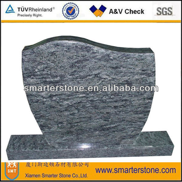 Simple granite small tombstone
