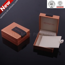 Eye catching Leather or foam tray creative jewelry gift box