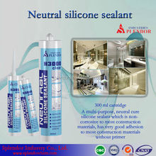Neutral Silicone Sealant/granite polymer silicone sealant/rebar adhesive silicone sealant supplier/ clear coat for silicone seal