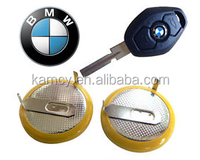 BMW remote control car key battery rechargeable LIR2025 battery