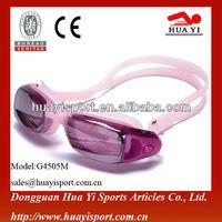 Durable cheap silicone lonely prescription swimming goggle made in china