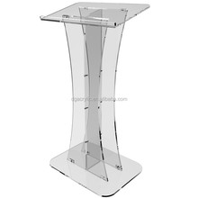 Wholesale custom made church used acrylic pulpit for sale