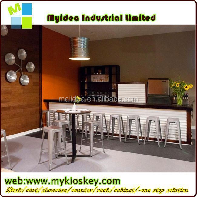 2014 LED Used Commercial Bar Sale/led Disco Furniture/bar Counter Boat  Shape Bar