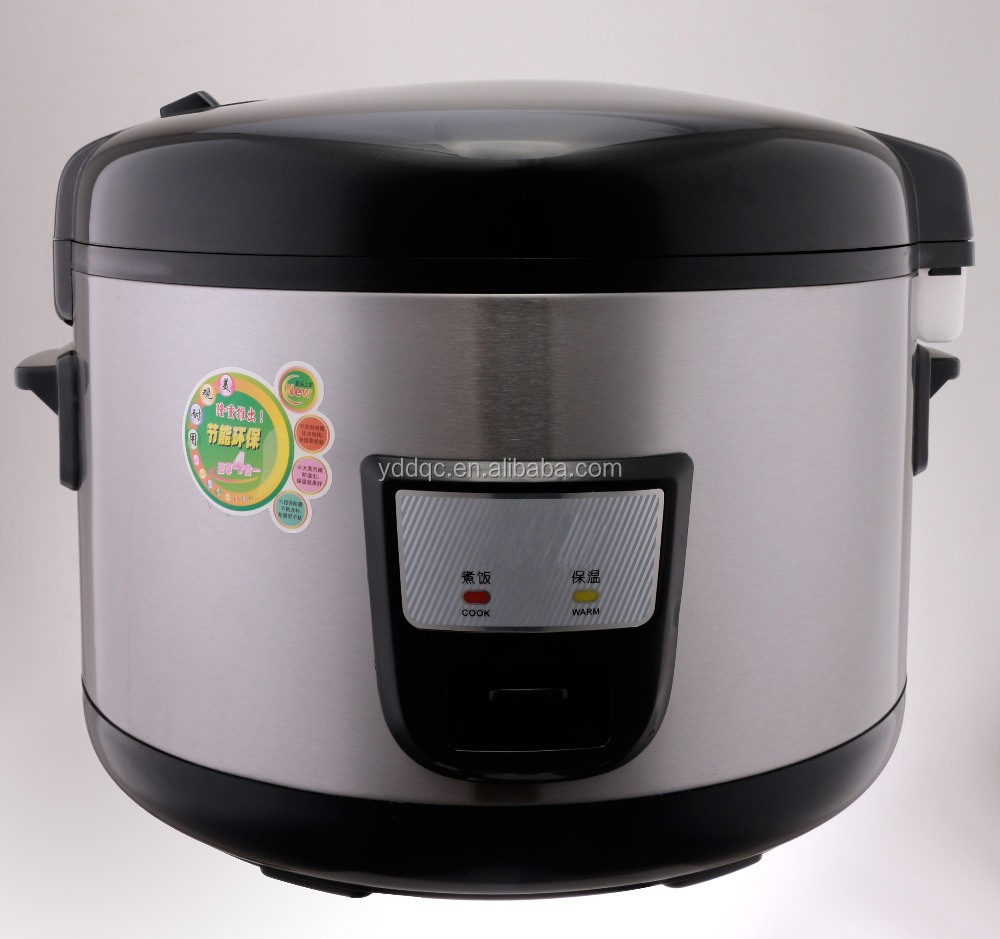 BIG CAPACITY NEW NATIONAL WHOLE HOT SALE ELECTRIC HOT SALE DELUXE RICE COOKER BIG SIZE STAINLESS STEEL BODY CHINA MANUFACTURER