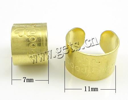 Brass Other Shape Good Luck Charm Clover 471518