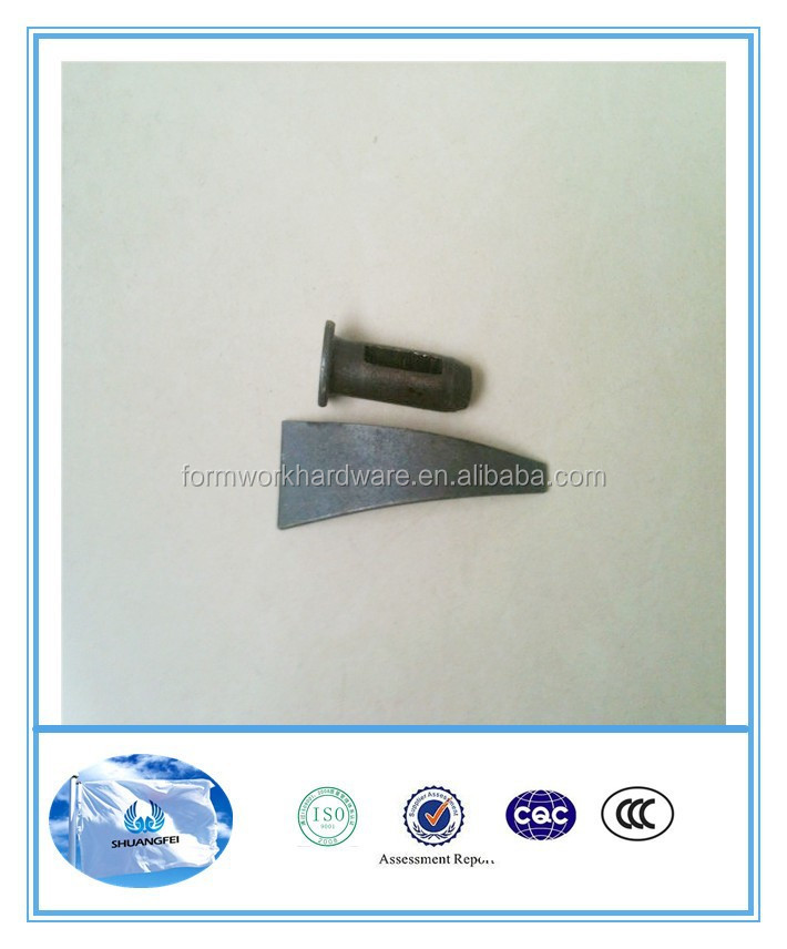 building Construction Carbon concrete form stub pin, Standard Pin (round head pin)