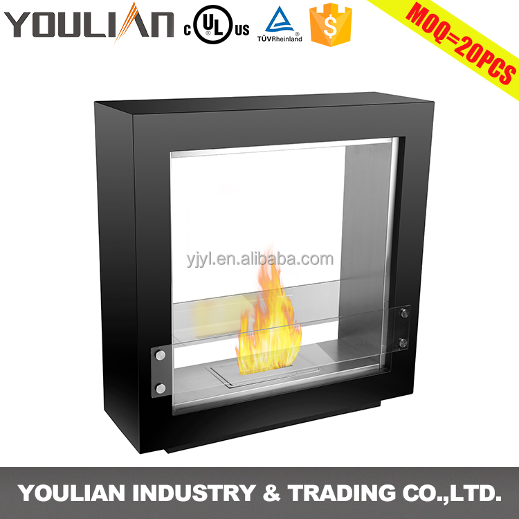 Custom OEM/ODM indoor used free stand bio ethanol fireplace insert (FP-002S)