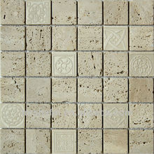 Outside wall decoration stone mosaic tile