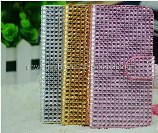 PU Leather Case with diamond