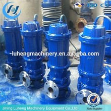 QWP stainless steel Non-clogging Pipeline Sewage Pump/ submersible water pump
