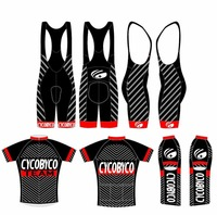 2017 CYCOBYCO BRAND Custom made short sleeves cycling team jersey cycling